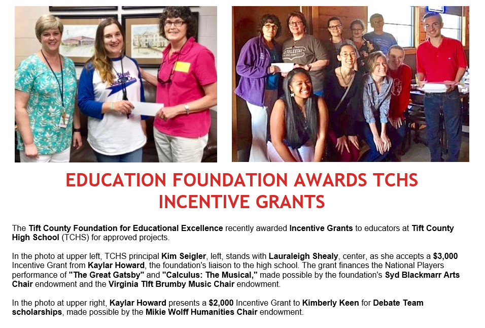 Tift County High School Grants